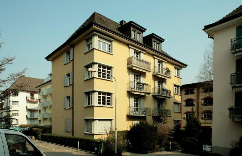 Sanierung Mehrfamilienhaus Giesshübelstr. 70, Zürich (20.Jh.); 1991