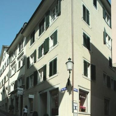 Sanierung Altstadthäuser Pfalzgasse 2-6, Zürich (16.Jh.); 1998