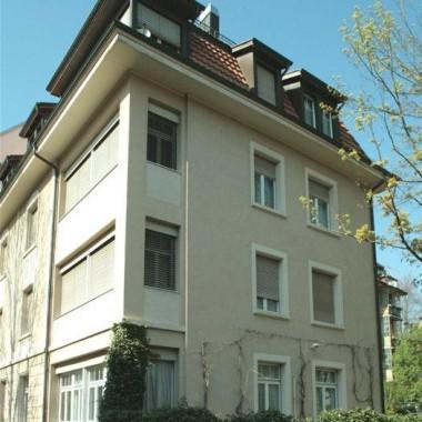 Gesamtsanierung Mehrfamilienhaus Hegibachstr. 74, Zürich (19.Jh.); 1981