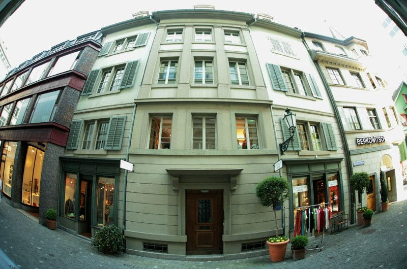 Gesamtsanierung Altstadthaus Augustinergasse 50, Zürich (18.Jh.); 1984