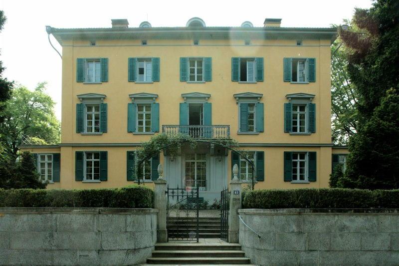 """Restaurierung Villa """"Herner"""", Seegartenstr. 45, Horgen ZH (19.Jh.); 1997"""