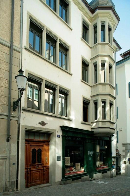 Gesamtsanierung Altstadthaus Kirchgasse 40, Zürich (19.Jh.); 1985