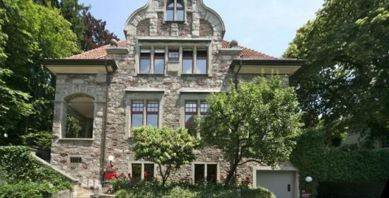 """Sanierung/Umnutzung Wohn-/Bürohaus """"Fässler"""", Resedastr. 25, Zürich (20.Jh.); 1982"""