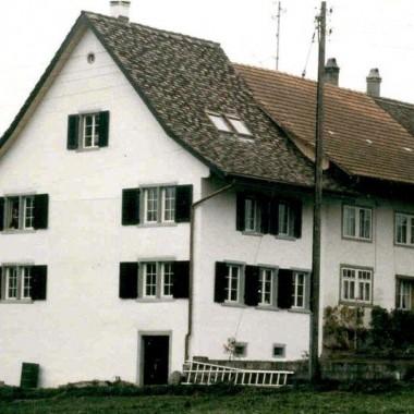 "Gesamtsanierung Flarzhaus ""Gubler"", Niederesslingen, Esslingen ZH (17.Jh.); 1983"