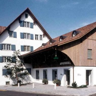 """Gesamt-Restaurierung """"Fähnderihus"""", Grütstrasse, Gossau ZH (18.Jh.); 1989"""
