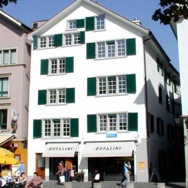 Sanierung Altstadthaus Schifflände 16, Zürich (16.Jh.); 2004
