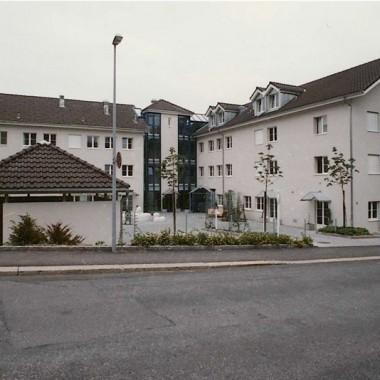 Neubau, Behindertenzentrum WABE, Sanatoriumstr. 16, Wald ZH; 1991