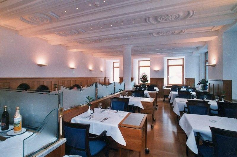 "Neugestaltung Restaurant ""Orsini"", Waaggasse 3, Zürich (18.Jh.); 1998"