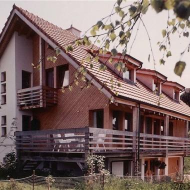 """Neubau Einfamilienhaus """"Dr. Wehrli"""", Grossackerstr. 15, Aesch ZH, 1986"""