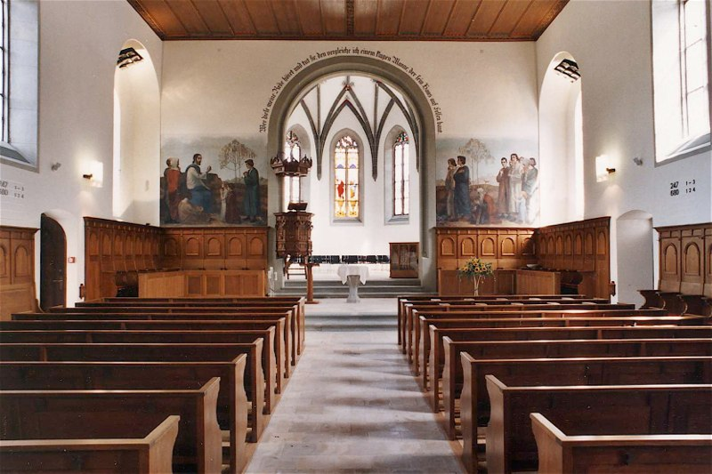 Gesamtsanierung Evang.-ref. Kirche Turbenthal ZH (16.+19.Jh.); 2002