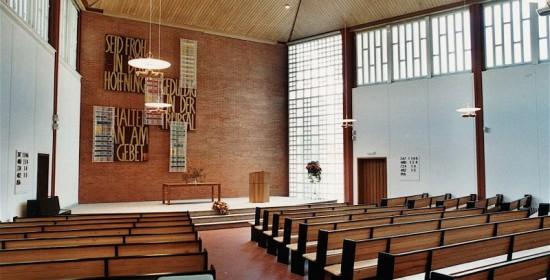 Sanierung Stefanskirche, Altwiesenstr. 170, Zürich-Hirzenbach (20.Jh.); 1999