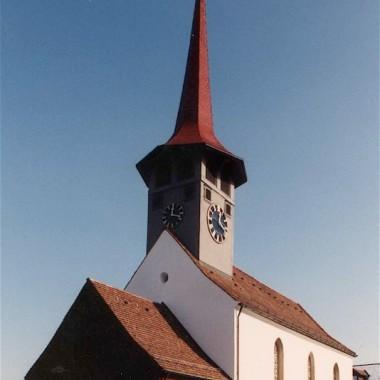 Aussensanierung Evang.-ref. Kirche Pfungen ZH (17.Jh.); 1997