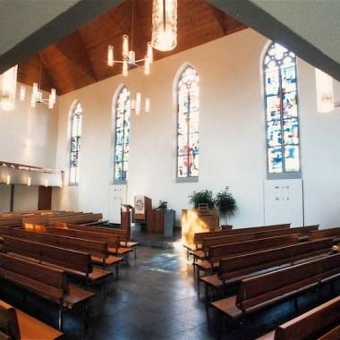Gesamtsanierung Evang.-ref. Kirche Unterstrass, Turnerstr., Zürich (19.Jh.); 1996