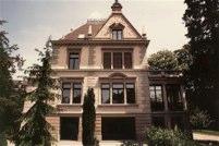 """Restaurierung Bürogebäude """"Riesmatt"""", Mittelstr. 8, Zürich (19.Jh.); 1984"""