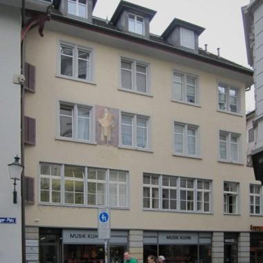 Sanierung Musikladen, Brunngasse 18, Zürich (20.Jh.); 2012-13