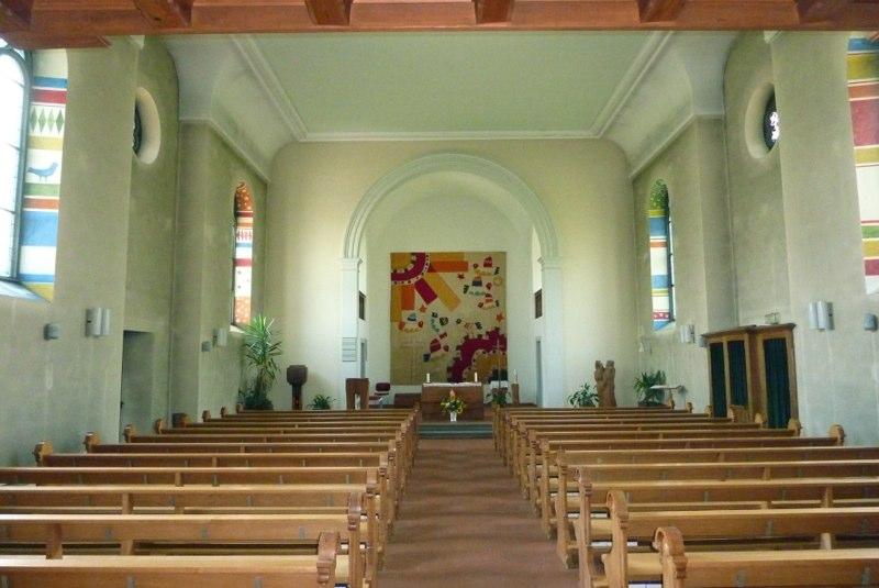 Innensanierung Kath. Kirche St. Pirminius, Dorfstr. 4, Pfungen ZH (19.Jh.); 2014